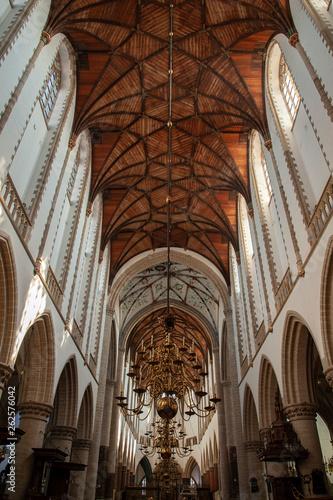 canvas print picture Haarlem Church
