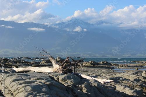 Entre plage et montagnes © Jessy