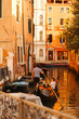 venice street gondoliers
