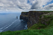 canvas print picture - Cliffs of Moher