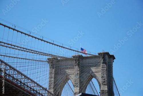 Fototapeten Brooklyn Bridge Dumbo Manhattan Bridge