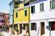 The colors of Burano Italy