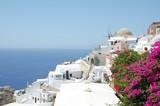 Oia the beautiful town of Santorini – wonderful panorama view