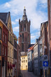 "canvas print picture - Blick auf die ""Christoffelkathedraal"" in Roermnond/NL"