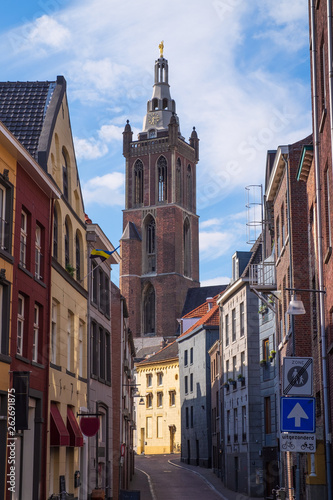 "canvas print picture Blick auf die ""Christoffelkathedraal"" in Roermnond/NL"
