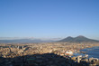 Quadro Blick über Neapel und den Vesuv