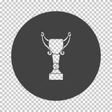 Baseball cup icon