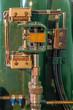 Details eines Turbinenregler in einem alten Kraftwerk