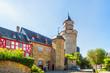 canvas print picture - Hexenturm, Idstein