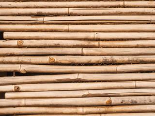 The old bamboo background. © dekzer007