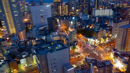 夜の大都会