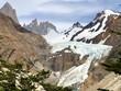 canvas print picture - Chilenischer Gletscher