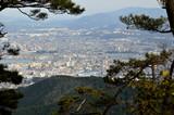 滋賀 音羽山からの眺め