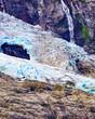 canvas print picture - Boyabreen Glacier in Norway
