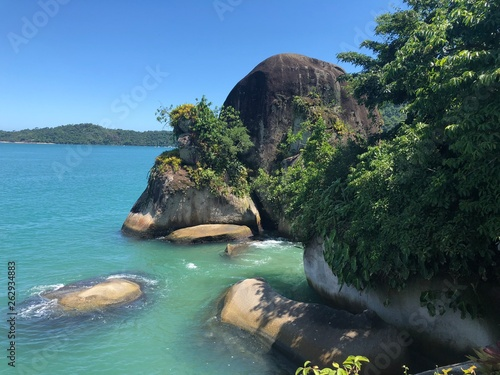 canvas print picture Brasiliens Traumstrand