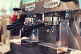 coffee machine in cafe restaurant