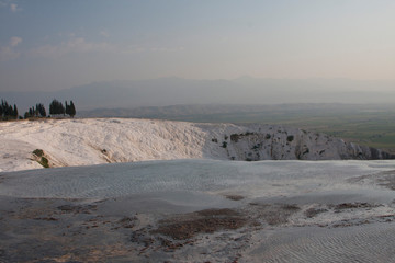 pools and terraces pamukkale turkey