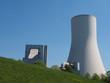 canvas print picture - Kühlturm eines Kraftwerkes