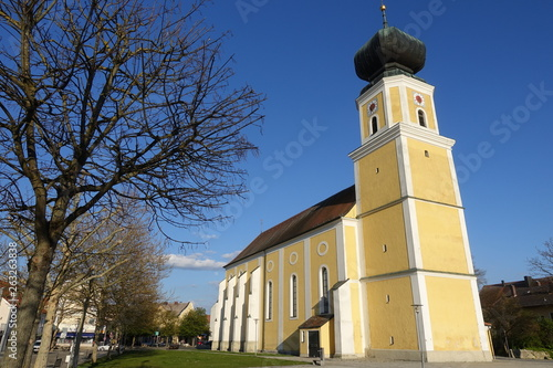 canvas print picture Kirche Sankt Ulrich in 94060 Pocking