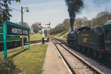 Horstead Keynes Station, West Sussex