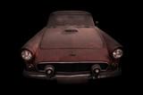 Auto Retro Ford Thunderbird, 1956