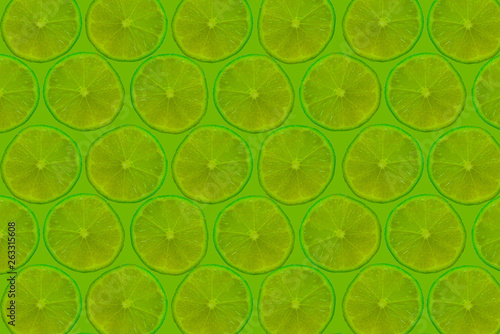 Lime Background Texture - 263315608