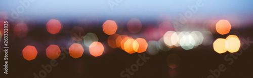 City lights blur bokeh - 263332035