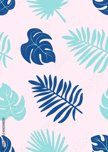 Tropical Pattern - 263368231