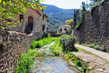 Paysage village
