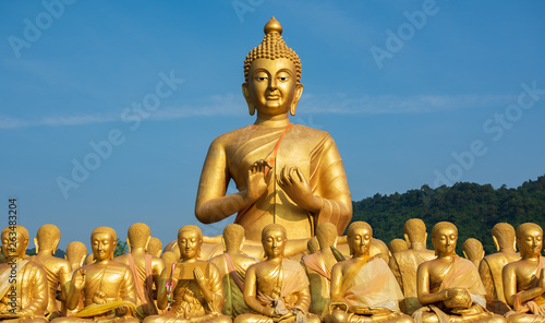 Buddha image used as amulets of Buddhism religion © mai111