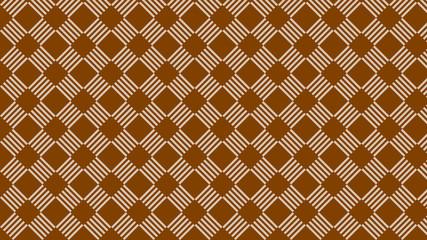 Brown Geometric Stripes Pattern