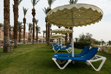 Rest near the Dead Sea