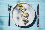 vegetarian and vegan menu