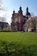 canvas print picture - schillerplatz mit jesuitenkirche