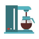Coffee making machine with pot