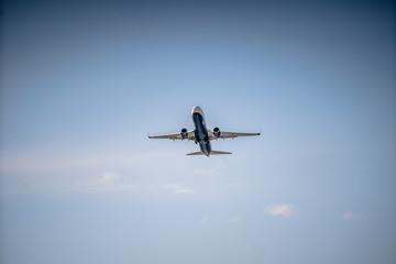 Airplane at startup
