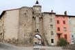 Village de Allegre - Département de Haute Loire - Porte de muraille de Monsieur