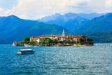Beautiful lakes of Italy - scenic Lago Maggiore, Borromean island