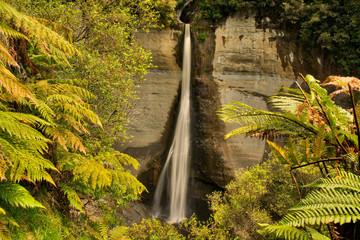 Dawson's Falls in the Egmont National Park in Taranaki