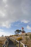 Ameland wadden island. Waddenzee Netherlands Lighthouse