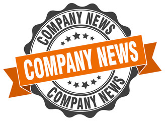 company news stamp. sign. seal