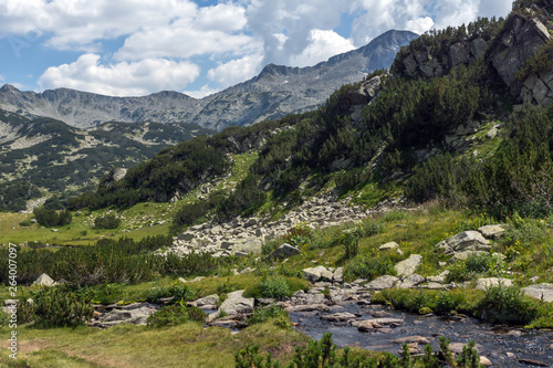 Landscape of Banderishki chukar peak, Pirin Mountain, Bulgaria