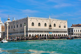 Doge's Palace is a palace built in Venetian Gothic style 30 2019 Venice Italy