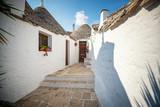 Charakterystyczne domki Alberobello trulli