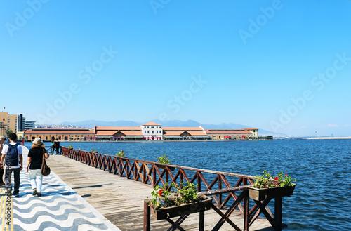 Pasaport Pier on Kordon Street in Izmir City.  © Ulkar