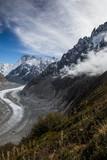Die wunderbare Bergwelt des Wallis im Herbst