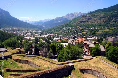 Francia, la città di Briancon.
