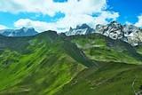 Austrian Alps-view on the mountain Sulzfluh and Drei Turme