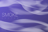 Smoke on purple background
