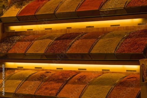 Gewürzmarkt Istanbul Detail © driendl